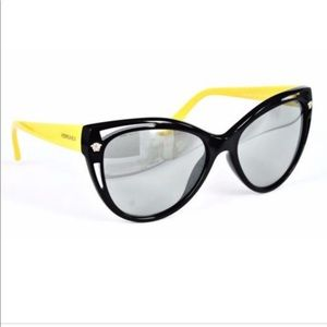 Versace Black and Yellow Mod. 4267 Sunglasses